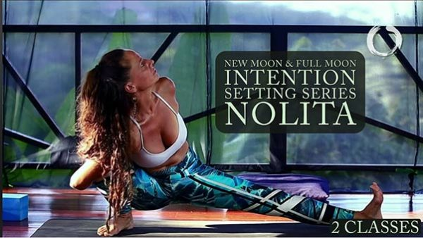 Full & New Moon Intention Setting Yoga Flow - Nolita | Online Yoga Class