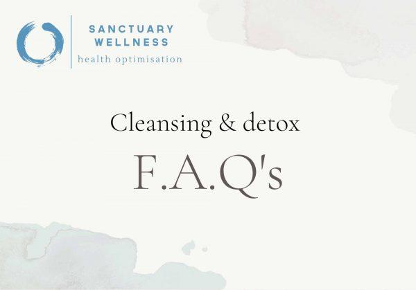 detox FAQ