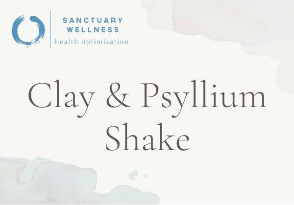 clay-psyllium shake
