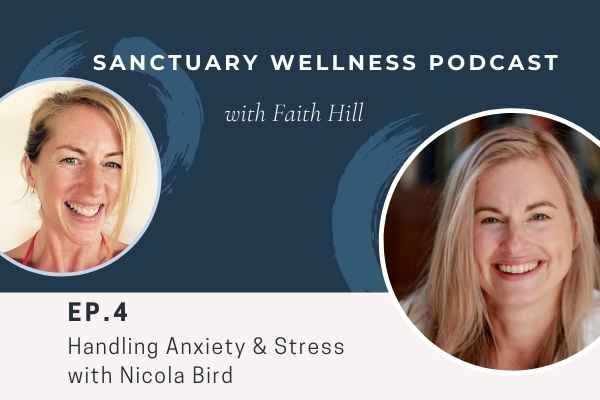 handling anxiety with Nicole bird